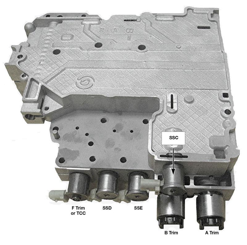 sonnax identifying allison  valve bodies