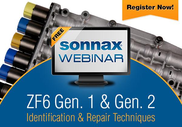 Sonnax Webinar: ZF6 Identification & Repair Techniques