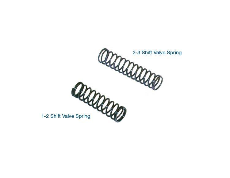 1-2 & 2-3 Shift Valve Spring Kit