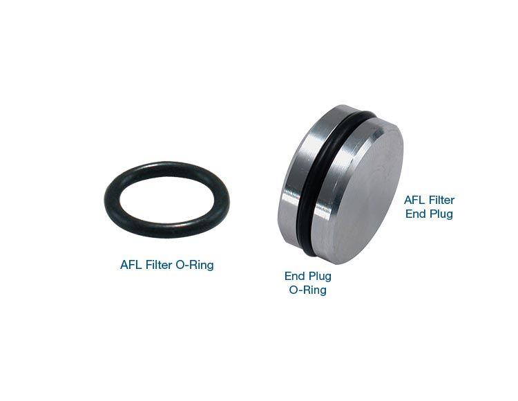 AFL Filter End Plug & O-Ring Kit