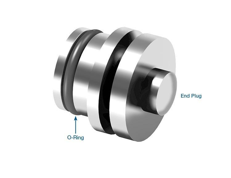 Pressure Switch O-Ringed End Plug Kit