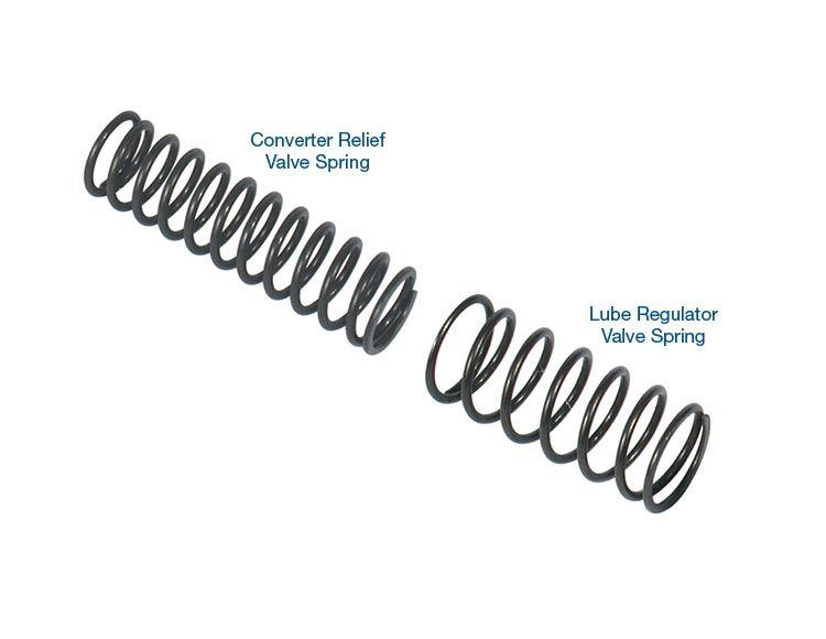 Lube Regulator and Converter Relief Spring Kit