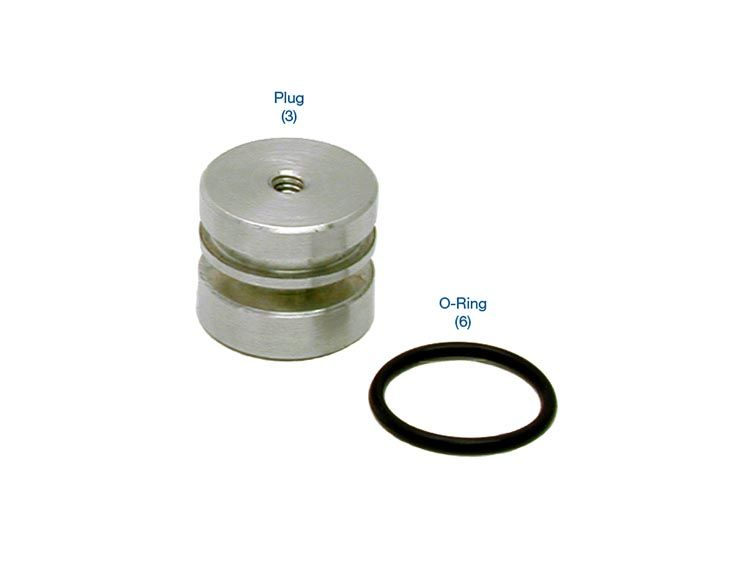 O-Ringed End Plug Kit