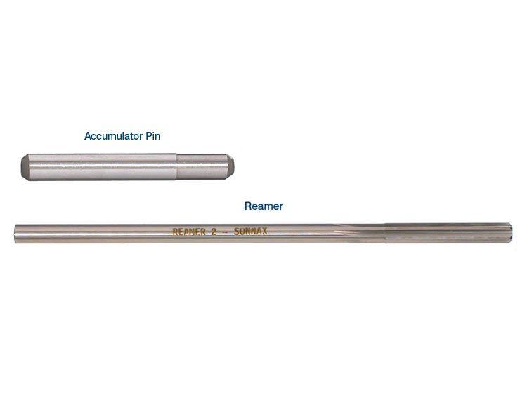 Oversized Accumulator Pin & Reamer Kit