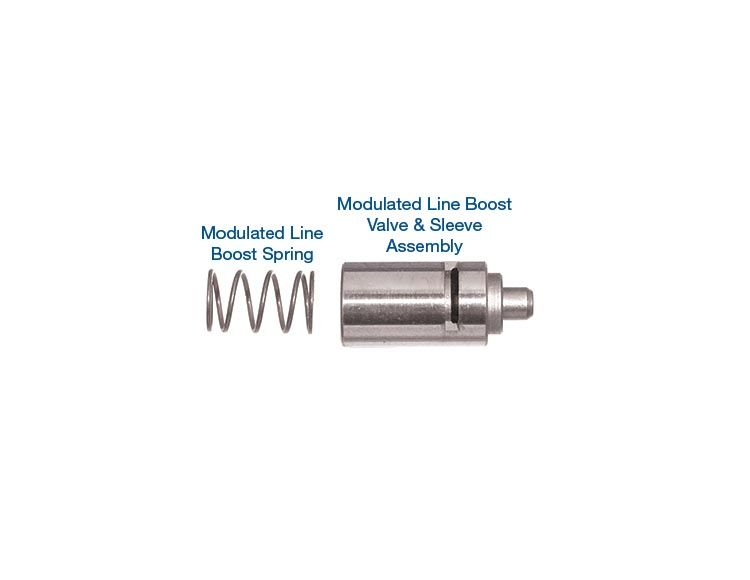 Modulated Line Boost Valve Kit