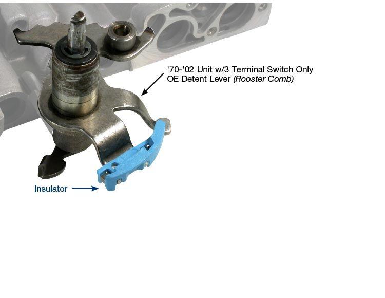 Neutral Safety BackUp Insulator Service Kit  2222903