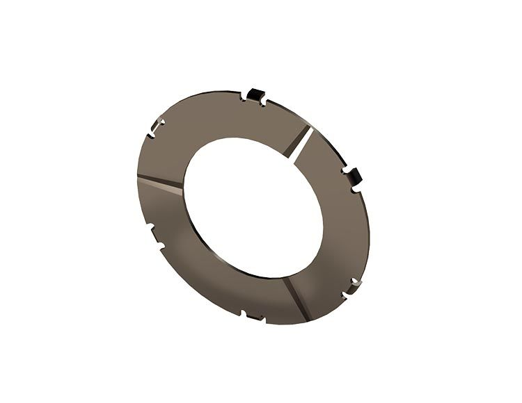 6-Tab Front Thrust Washer