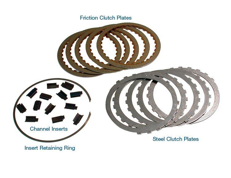 Clutch Channel Insert Kit