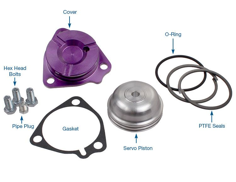 Servo Piston & Cover Kit