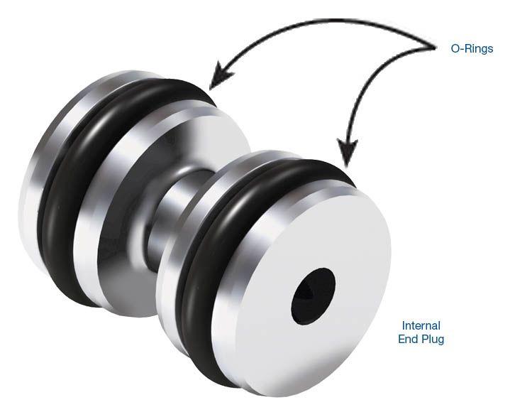 O-Ringed Internal End Plug Kit