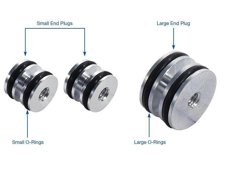 O-ringed End Plug & Checkball Kit