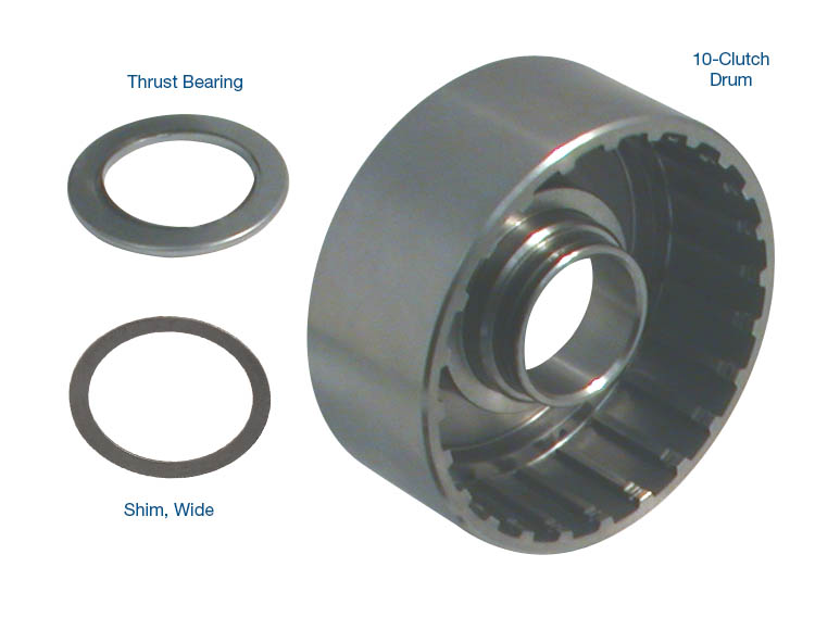 10-Clutch Drum with Bearing