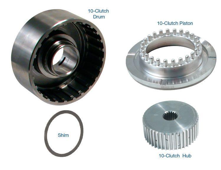 10-Clutch Drum, Hub & Piston Kit