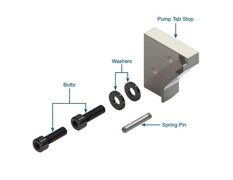 Pump Stop Tab Repair Kit