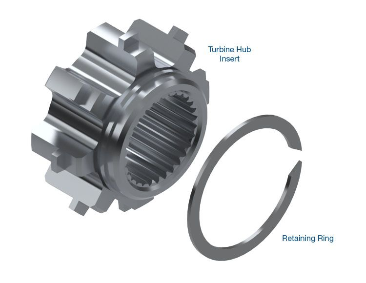 Turbine Hub Insert Kit