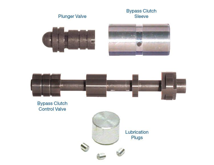 Oversized Bypass Clutch Control Valve Kit