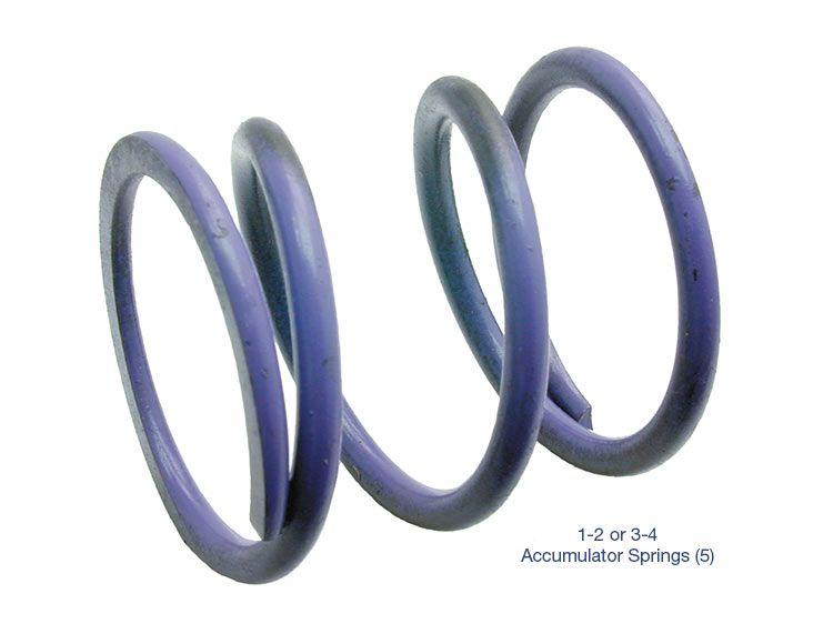 1-2 or 3-4 Accumulator Spring