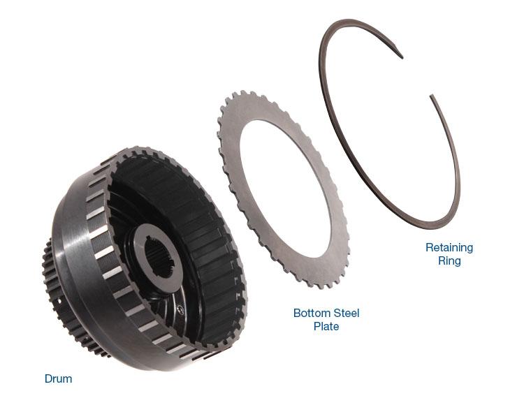 Smart-Tech® High Capacity Forward Clutch Drum Kit