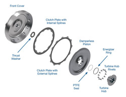 Damperless Multi-Plate Converter Clutch Kit