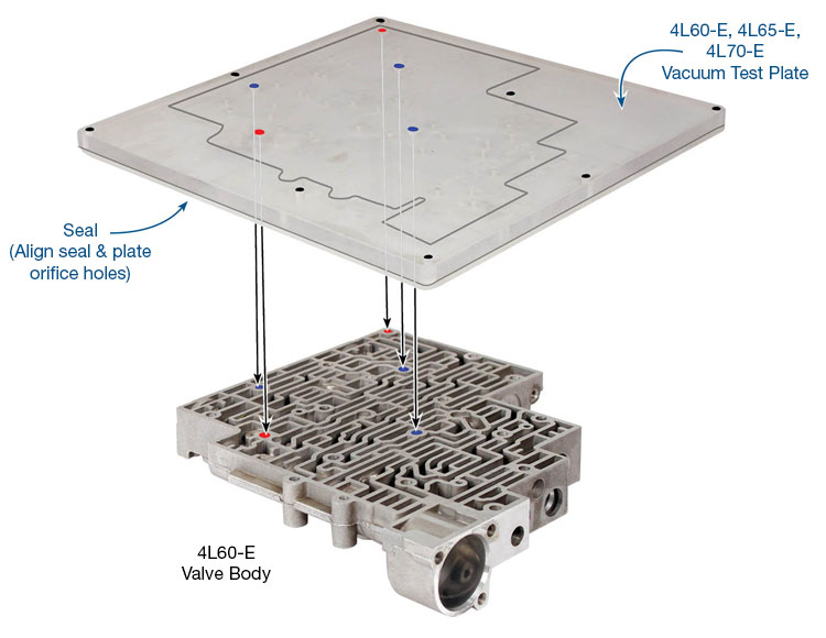 Vacuum Test Plate Kit