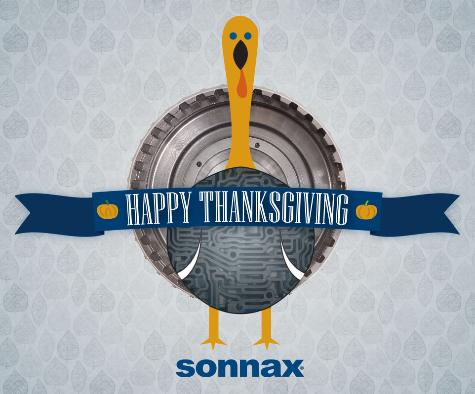 Sonnax Holiday Closing Notice