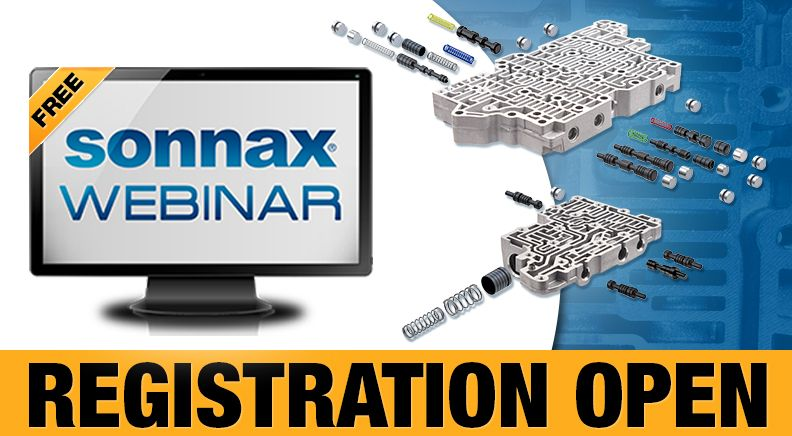 Registration Now Open for Free Sonnax Webinar!