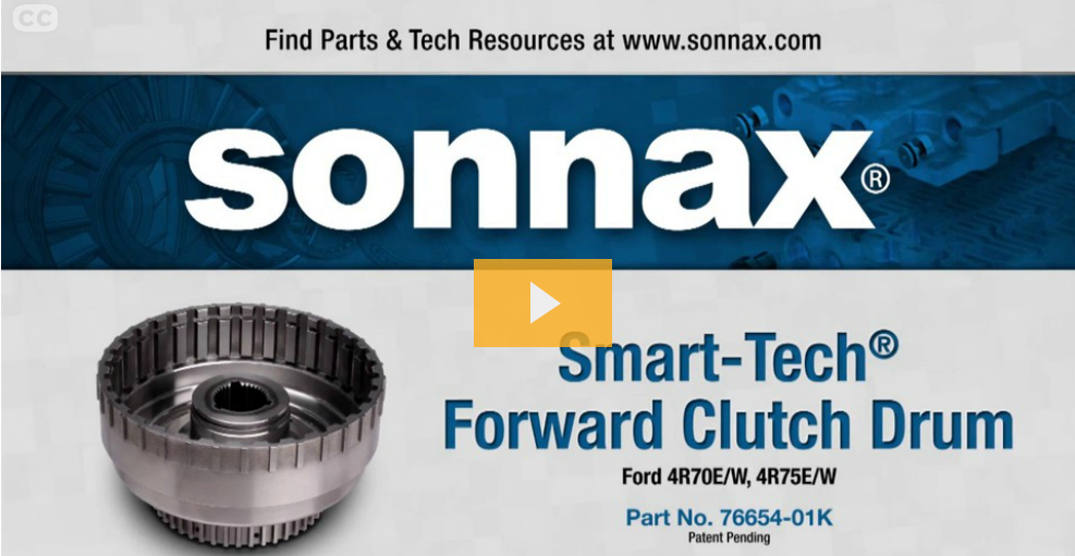 New Video Released! Stop 4R70W Drum Failure with the Smart-Tech® Forward Clutch Drum