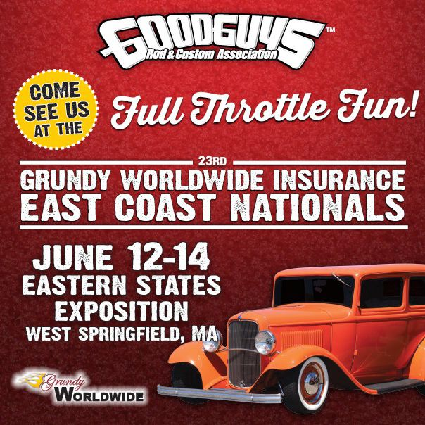 Visit Sonnax at Goodguys 23rd Grundy Worldwide Insurance East Coast Nationals