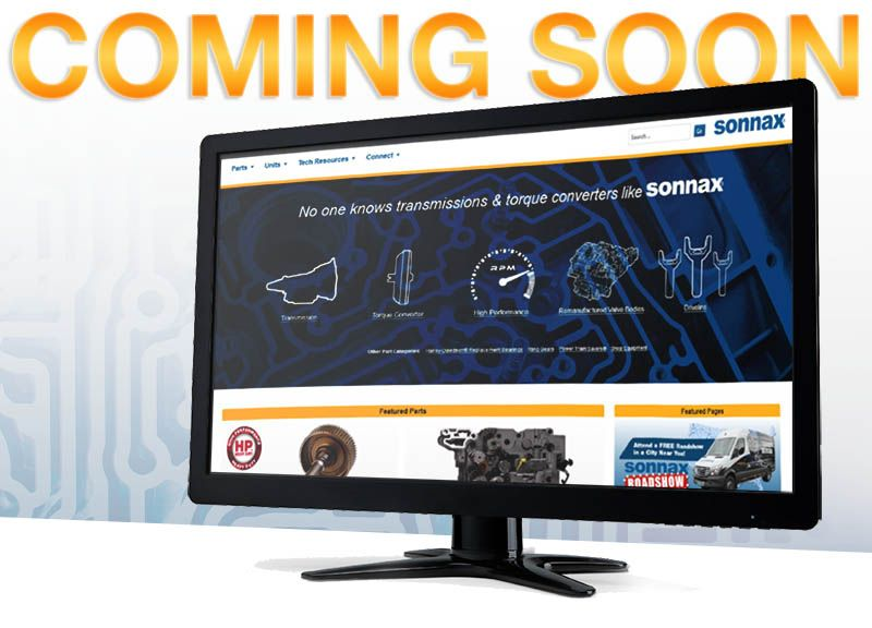 New Sonnax Website Design Launches October 5!