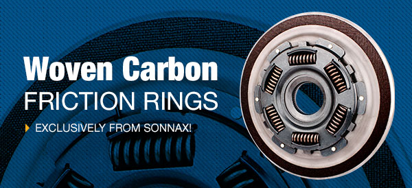 Introducing Woven Carbon Friction Rings Exclusively from Sonnax!
