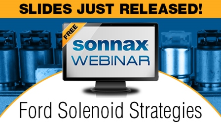 Ford Solenoid Strategies Webinar Recording & Slides Now Available