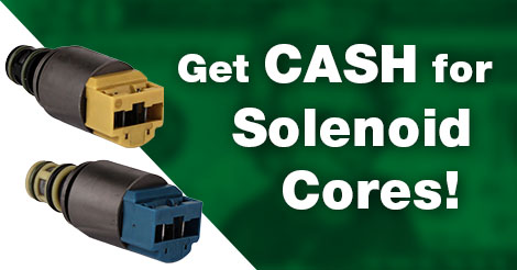 Got Solenoid Cores? Sell them to Sonnax!