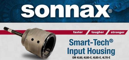 Eliminate 3-4 Clutch Failure with Sonnax Smart-Tech® Input Housing