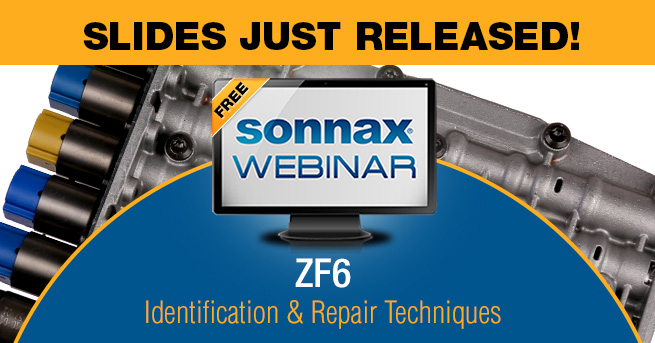 Latest Sonnax Webinar Recording & Slides Now Available!