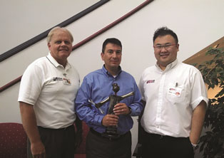 Sonnax Recognized for Outstanding Service