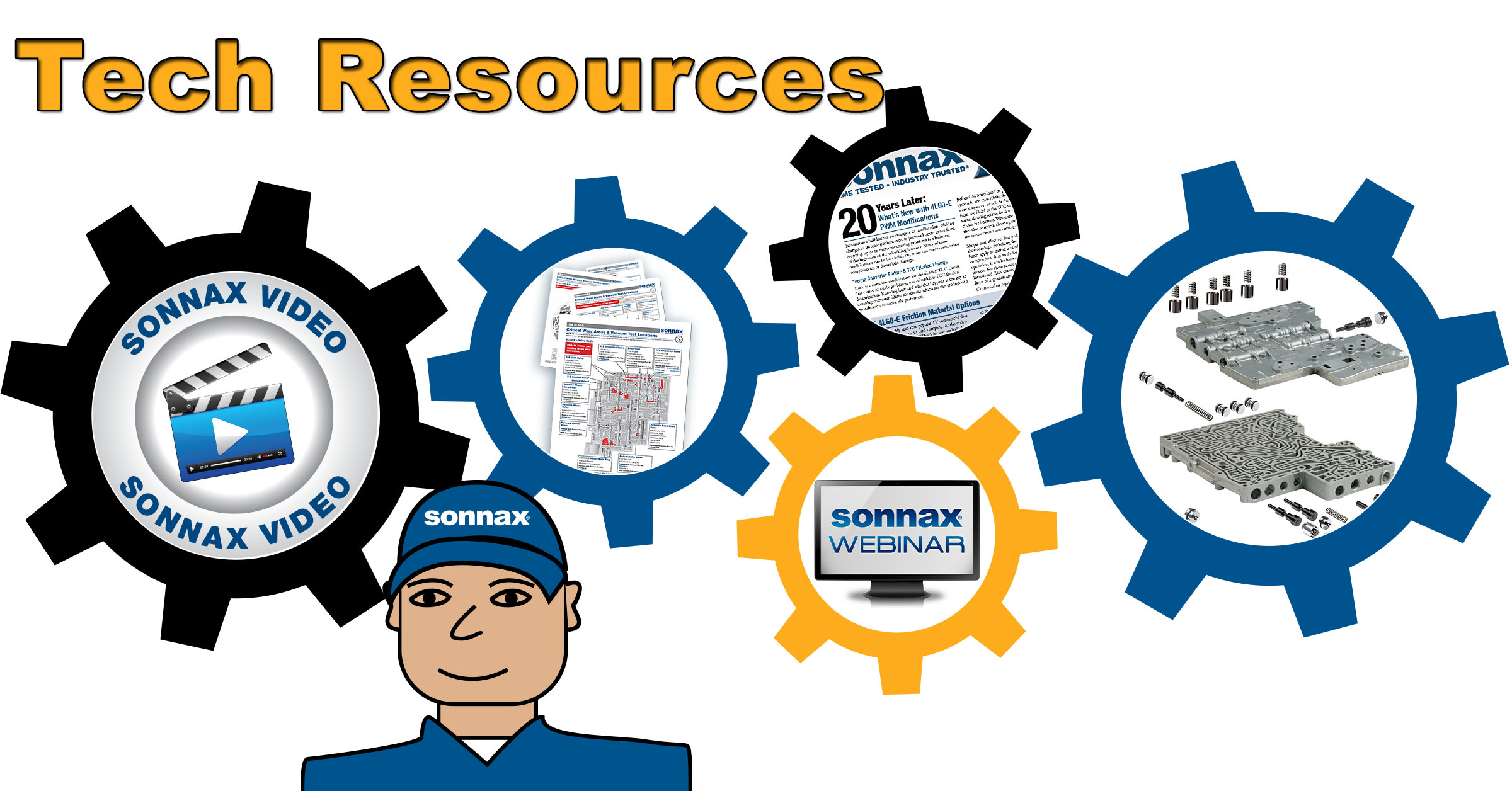 Catch Up on the Latest Tech Resources from Sonnax