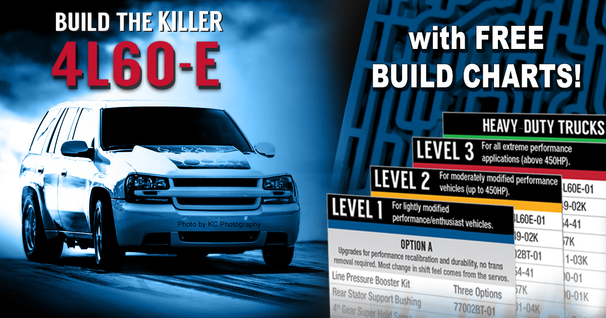 FREE 4L60-E Series Performance Build Charts