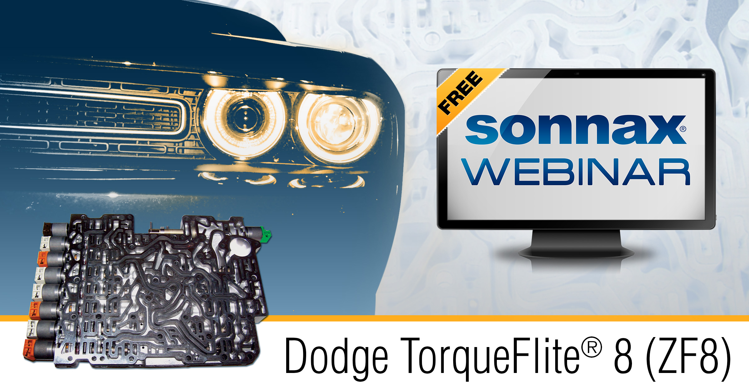 Registration Open for Dodge TorqueFlite® 8 (ZF8) Webinar