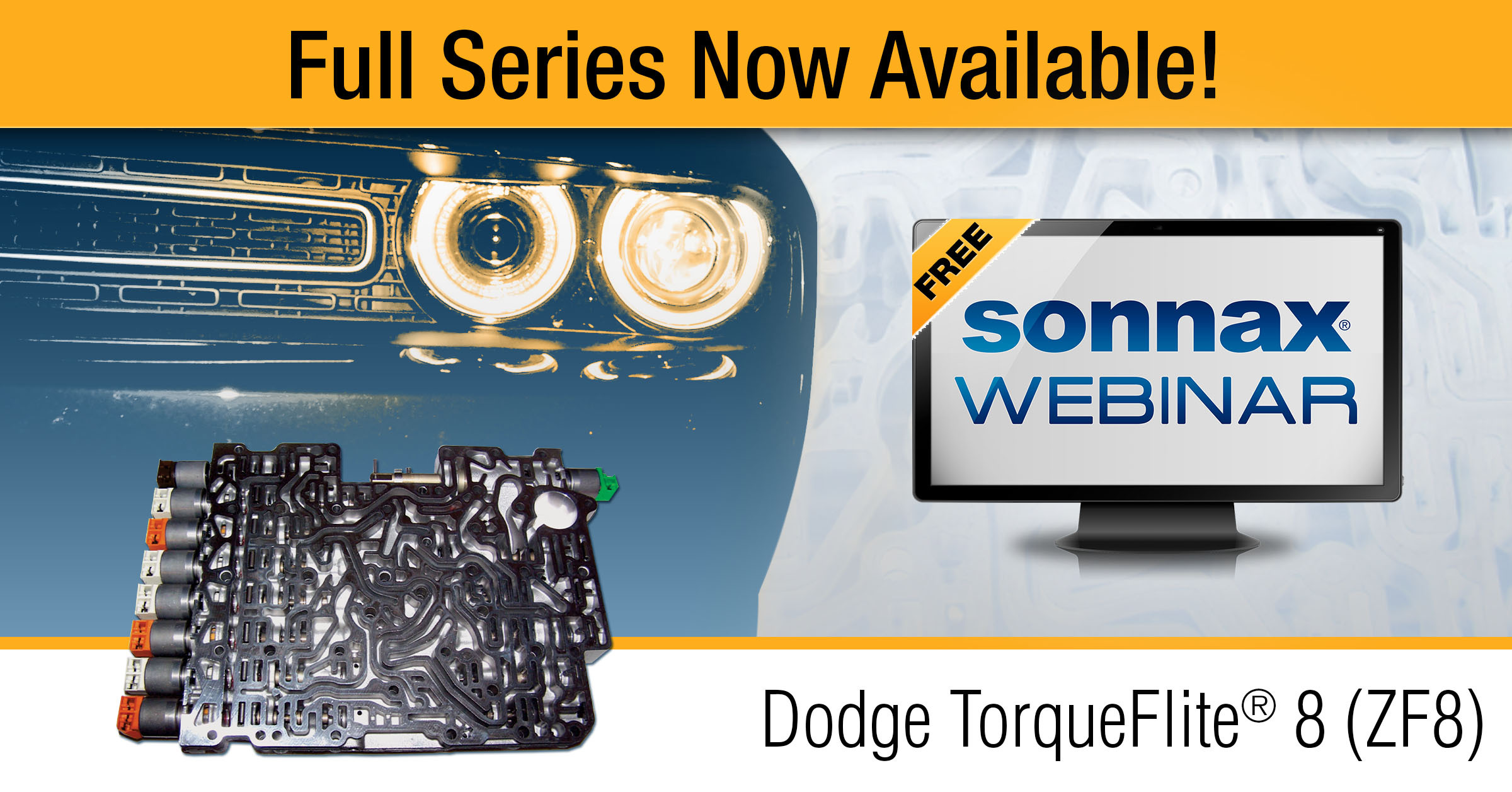 Entire Dodge TorqueFlite® 8 (ZF8) Webinar Series Released