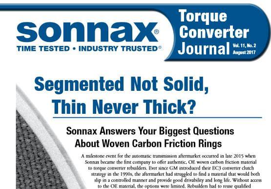 Sonnax tc journal 9 17