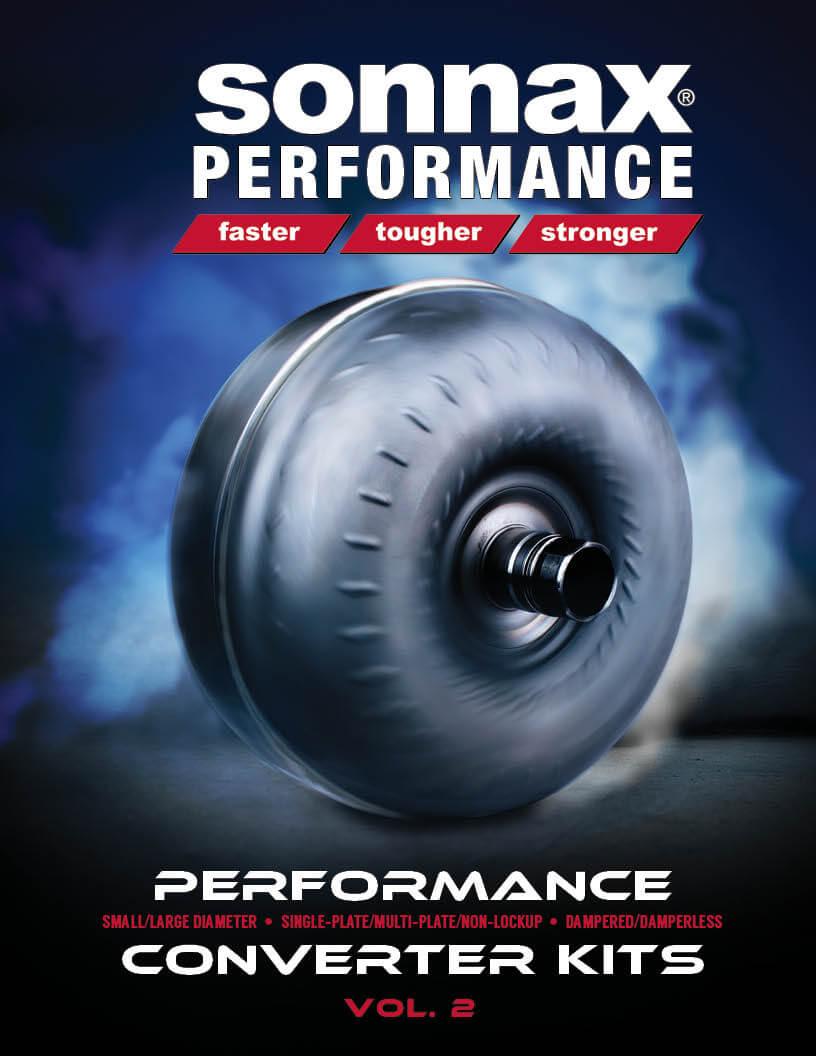 Sonnax performance converter catalog vol 2