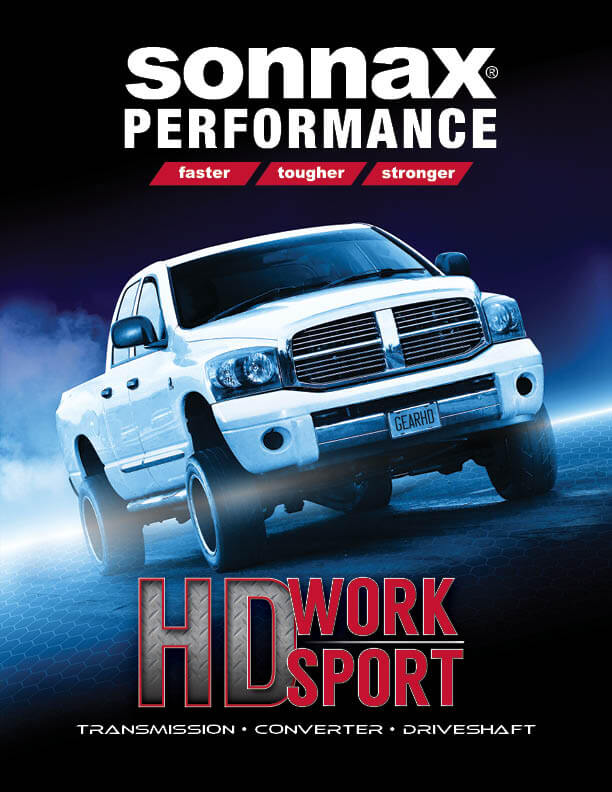 Sonnax heavy duty work sport catalog