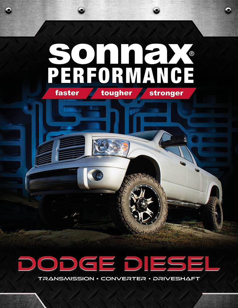 Sonnax dodge diesel catalog cover