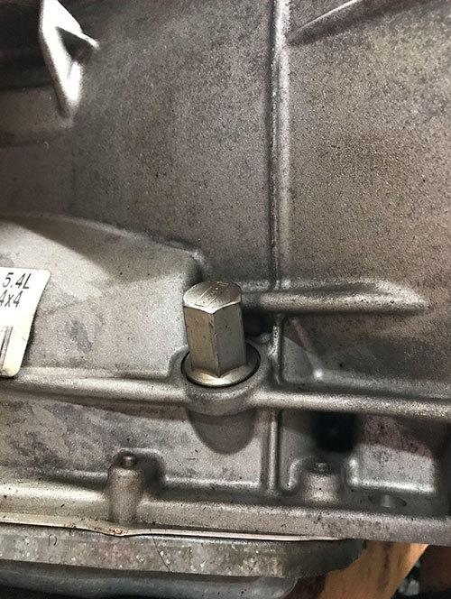 6R80 Transmission Dipstick Plug