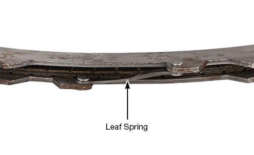 6R140 OE Leaf Spring
