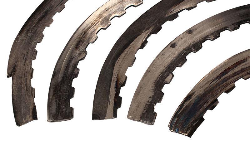 Broken OE Waved Plates