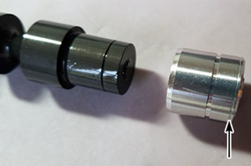 Figure 7 6R80 ID Goove on Sleeve