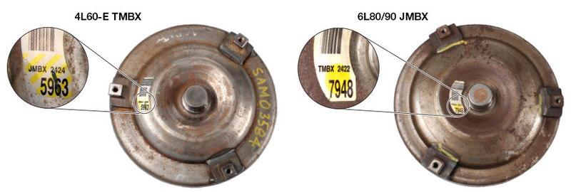 Figure 2 — 4L60-E TMBX & 6L80, 6L90 JMBX Front Covers