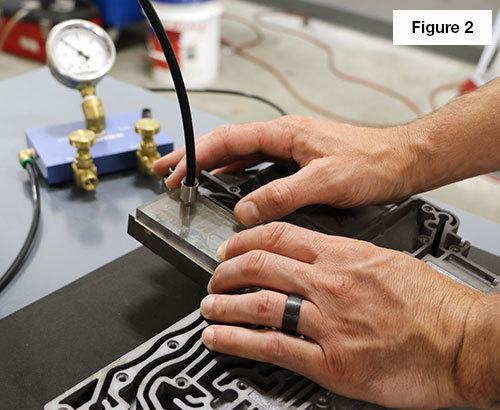 Vacuum Testing the 68RFE Solenoid Switch Valve Bore