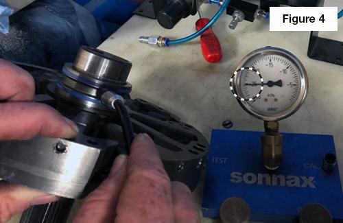 Core Drill Plug & Stator Tube Test